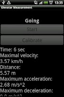 Screenshot of Elevator Measurement
