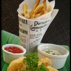 Beer Battered Fish W/ Tartar Sauce