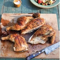 Greek-Style Butterflied Chicken