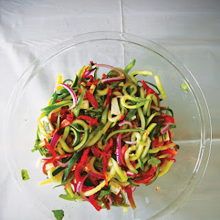 Cucumber-Pepper Slaw
