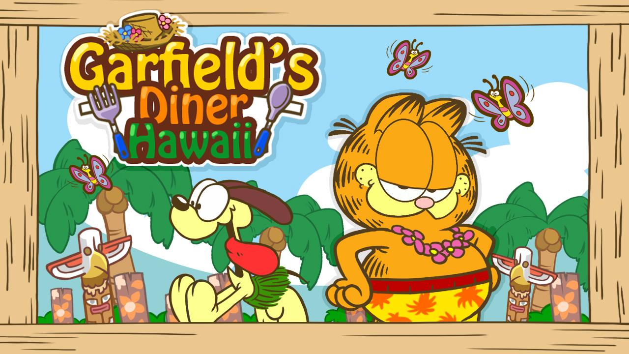 Garfield's Diner Hawaii Screenshot