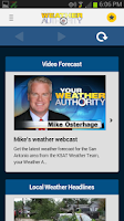 Screenshot of South Texas Weather Authority