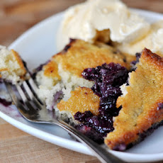 Texas-Style Blueberry Cobbler