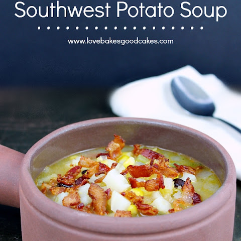 Southwest Potato Soup
