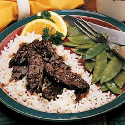 Sweet-and-Sour Elk