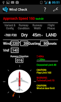 Screenshot of Wind Check (Boeing 737)