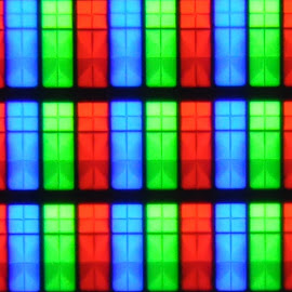 Pixel Mania by George Gacea - Abstract Macro ( macro, color, tv, pixels, samsung )