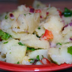 Southwest Potato Salad With Lime-Cilantro Vinaigrette
