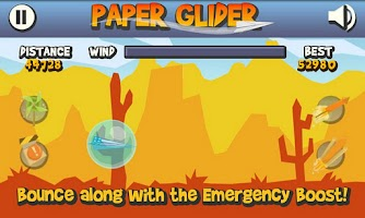 Screenshot of Paper Glider