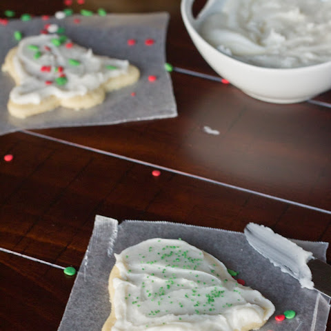 Frosted Sugar Cookies (12 Days of Christmas)