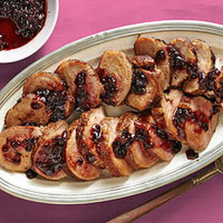 Blackberry Pork Tenderloin