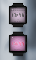 Screenshot of Pixel Art Clock