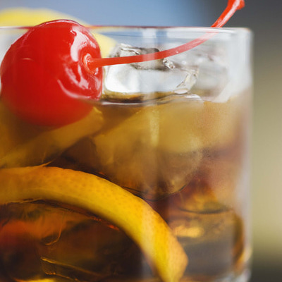 Brandy Old-fashioned