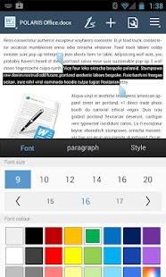 App POLARIS Office 5 for HTC apk for kindle fire