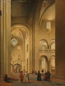 RIJKS: Pieter Jansz. Saenredam: painting 1637