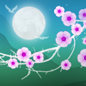 Blooming Night Pro Живые Обои icon