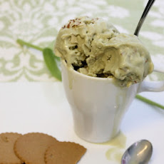 Green Tea Almond Gelato