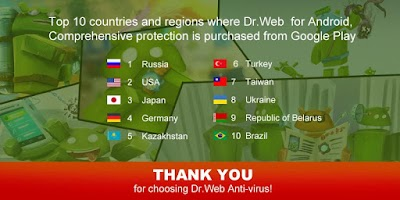 Screenshot of Anti-virus Dr.Web Light