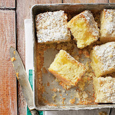 Lemon-Yogurt Crumb Cake