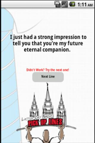 Funny LDS Pick Up Lines