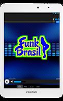 Screenshot of Radio Funk Brasil