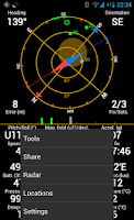 Screenshot of GPS Status PRO - key