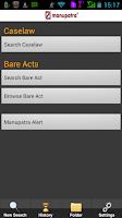 Screenshot of Manupatra for Android