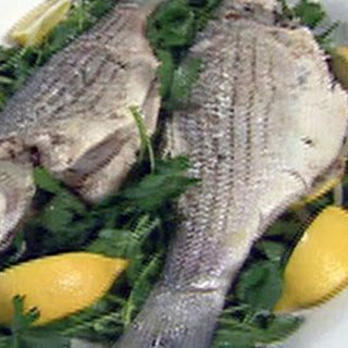 Whole Striped Bass Recipes