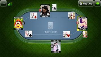 Screenshot of Vua bai iWin: Tien Len - Phom