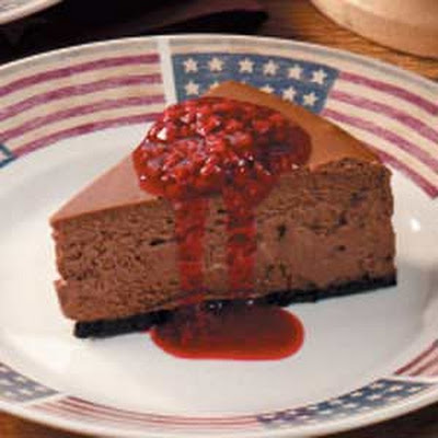 Chocolate Berry Cheesecake Recipe