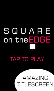 Square On The Edge - screenshot