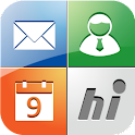 hiBox messaging service icon