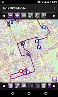Screenshot of Infis GPS Mobile