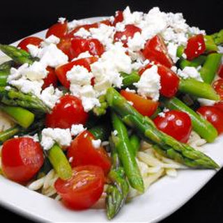 Asparagus, Feta and Couscous Salad