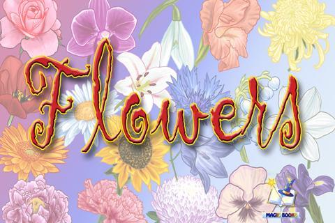 Flowers - books for kids