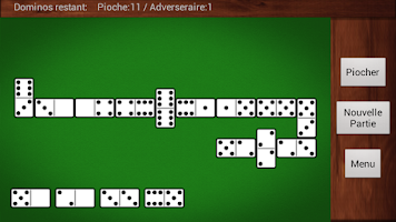 Screenshot of Domino Game