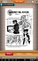 Screenshot of Ghost Slayer Comic
