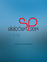 Screenshot of Eleições SP 2014