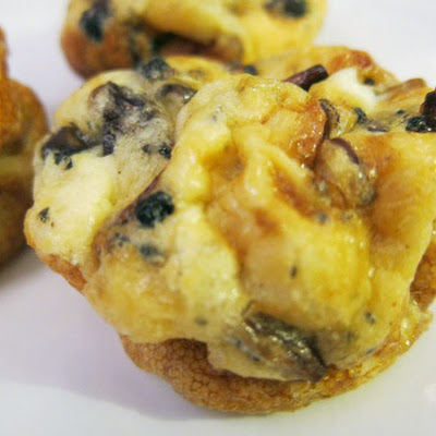 Wild Mushroom and Truffle Muffin-Tin Omelets