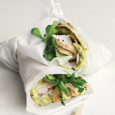 Turkey, Avocado, and Cress Wrap