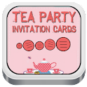 Tea Party Invitation Cards icon