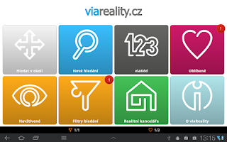 Screenshot of viaReality