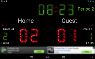 Screenshot of Scoreboard Futsal ++