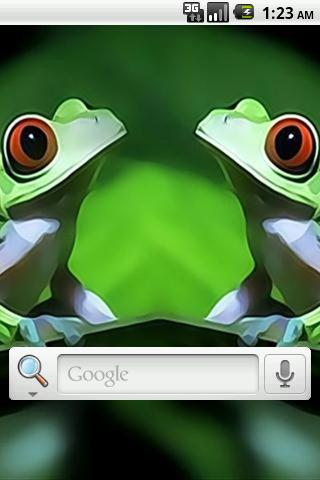 Cool Frog Live Wallpaper