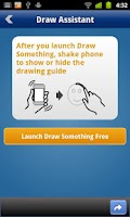 Screenshot of Draw Something Assistant