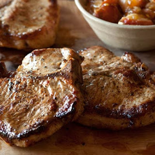 Maple-Brined Pork Chops