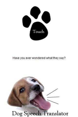 Dog Speech Translator