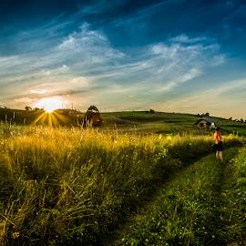 Gura Humorului by Ionel Lupu - Landscapes Sunsets & Sunrises ( bucovina,  )