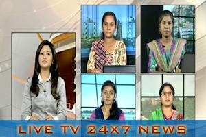 Screenshot of Puthiya Thalaimurai TV Ticker