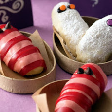 Halloween Fruity Mummy Cookies